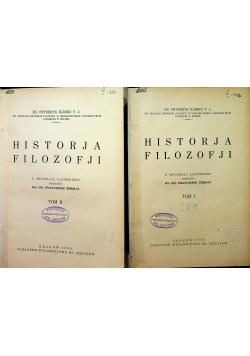 Historja Filozofji Tom I i II 1930r