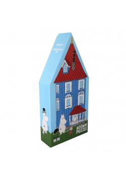 Puzzle dla dzieci w ozdobnym pudełku Dom Muminków