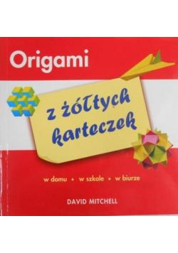 Mitchell David - Origami z żółtych karteczek