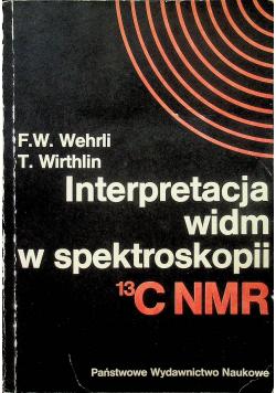 Interpretacja widm w spektroskopii 13 C NMR