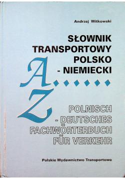 Słownik transportowy polsko niemiecki