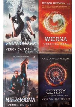 Niezgodna / Wierna / Cztery / Zbuntowana