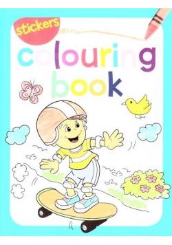 Colouring book z naklejkami