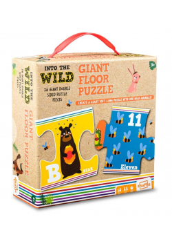 Shuffle - Into the Wilds Giant Floor Puzzle