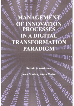 Management of innovation processes..
