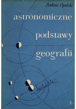 Astronomiczne podstawy geografii