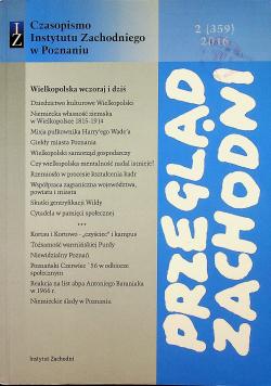 Czasopismo Instytutu Zachodniego w Poznaniu 2