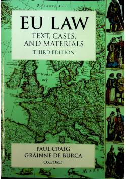 Eu law text cases and materials