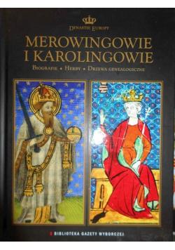 Merowingowie i Karolingowie Dynastie Europy tom 4