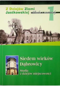 Z dziejów Ziemi Jastkowskiej Studia i materiały Tom 1