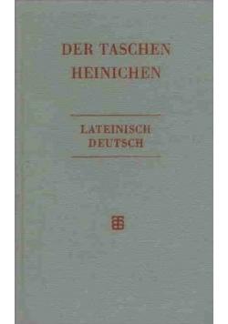 Der Taschen Heinichen Lateinisch Deutsch
