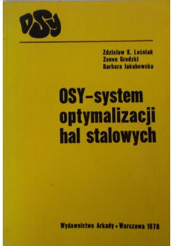 Osy- system optymalizacji hal stalowych
