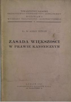 Zasada większości w prawie kanonicznym 1947 r.