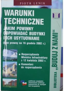 Warunki techniczne jakim powinny odpowiadać budynki i ich usytuowanie Biblioteka Buduj z nami