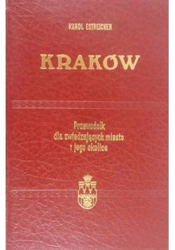 Kraków przewodnik dla zwiedzających miasto i jego okolice Reprint z 1938