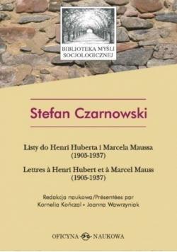 Listy do Henri Huberta i Marcela Maussa