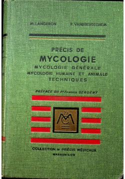 Precis De Mycologie