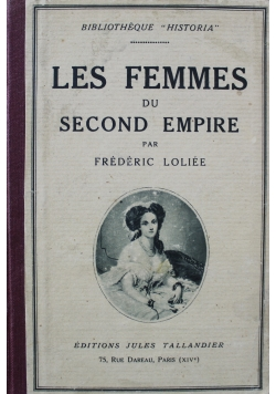 Les Femmes du Second Empire 1927 r.