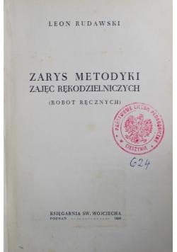 Zarys metodyki zajęć rękodzielniczych 1938 r.