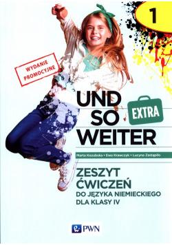Und so weiter 1 Extra Zeszyt ćwiczeń do języka niemieckiego