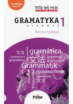 Testuj swój polski Gramatyka 1