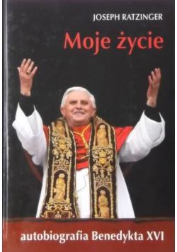 Moje życie Autobiografia Benedykta XVI