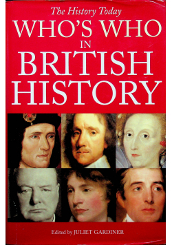 Whos who in british history