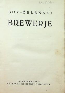 Brewerje 1926 r.