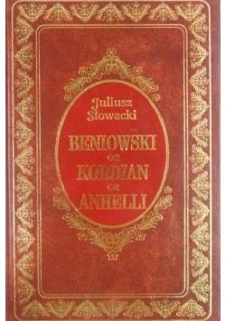 Beniowski Kordian Anhelli