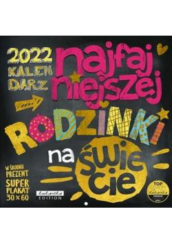 Kalendarz 2022 ścienny Classic Tablica Rodzinki