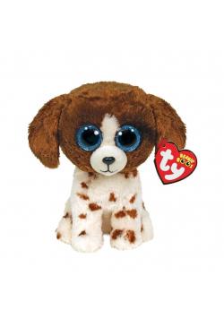 Beanie Boos Muudles - Brązowo-biały pies 15cm