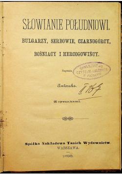 Słowianie południowi  1898r