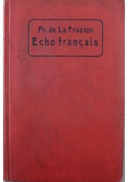 Fr de La Fruston Echo Francais