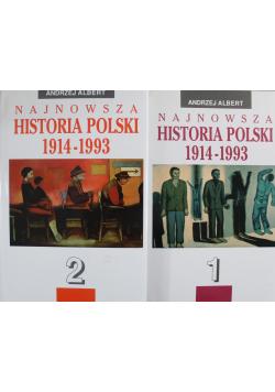Najnowsza Historia Polski 1914 - 1993 2 tomy