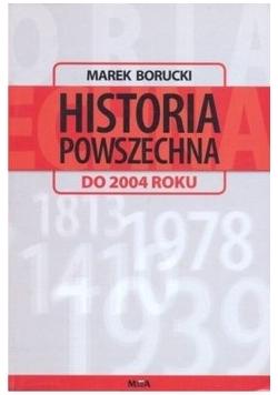 Historia powszechna do 2004 roku