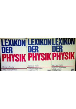 Lexikon der physik tom od I do III