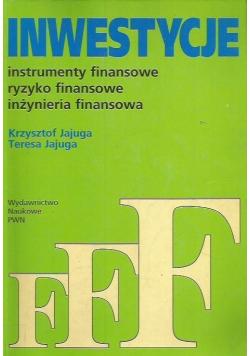 Inwestycje Instrumenty finansowe ryzyko finansowe inżynieria finansowa