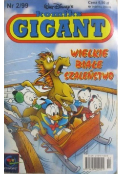 Komiks Gigant Wielkie białe szaleństwo