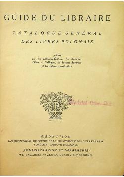 Przewodnik księgarski 1925 r.