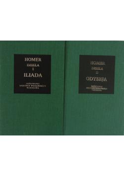 Homer dzieła I Iliada/Homer Dzieła II Odyseja