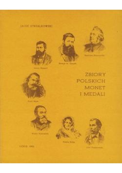 Zbiory polskich monet i medali plus autograf Strzałkowskiego