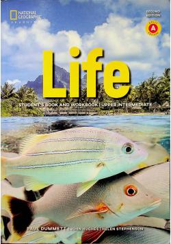 Life Students book an workbook  upper intermediate second edition Split A edition