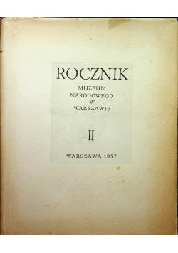 Rocznik Muzeum Narodowego w Warszawie II