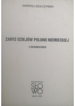 Zarys dziejów polonii niemieckiej