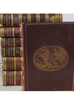 Wielka historja powszechna 7 tomów ok 1934 r
