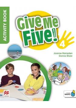 Give Me Five! 4. Activity Book + kod MACMILLAN