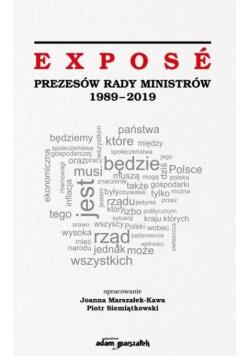 Expose Prezesów Rady Ministrów 1989-2019
