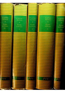 Norwid Pisma wybrane 5 tomów