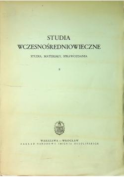 Studia wczesnośredniowieczne tom 2
