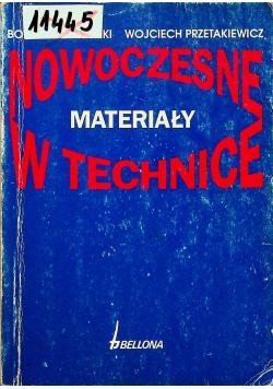 Nowoczesne materiały w technice